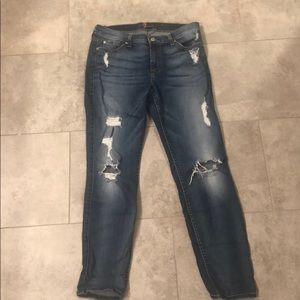 7 for all Mankind-Ankle Skinny Jean